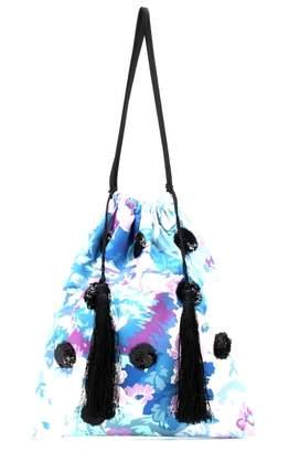 ATTICO Pink Glitter Handbags