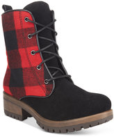 Mojo Moxy Patches Lace-Up Booties