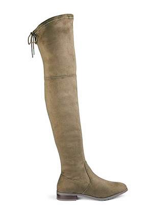 Simply Be Nicole Boots Wide Fit Super Curvy Calf