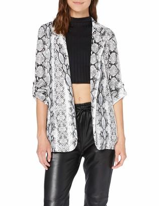 New Look Women's Serena Snake Suit Jacket