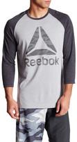 Reebok Camo Brand Baseball Sweatshirt