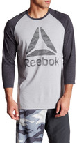 Reebok Camo Brand Baseball Tee
