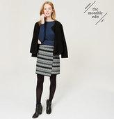 LOFT Fairisle Wrap Skirt