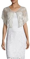 Embroidered French Knot Capelet