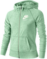 Nike Sportswear Gym Vintage Full-Zip Hoodie, Big Girls (7-16)