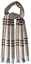 Burberry Metallic House Check Scarf