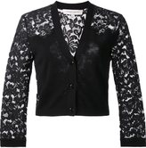 Carolina Herrera lace sleeve cardigan