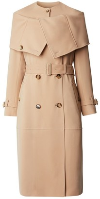 Burberry Silk Cady Reconstructed Trench Coat