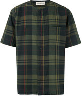 Universal Works check pattern T-shirt - men - Cotton - S