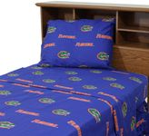 Bed Bath & Beyond University of Florida King Sheet Set