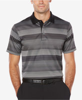 PGA TOUR Men's Gradient-Striped Golf Polo