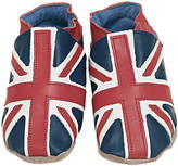 Starchild shoes Boys And Girls Soft Leather Baby Shoes Union Jack