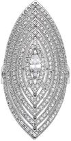 JLO by Jennifer Lopez Cubic Zirconia Openwork Marquise Ring