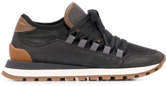 Brunello Cucinelli Ball-Chain Embellished Sneakers
