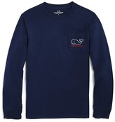 Vineyard Vines Boys' Santa Whale Tee - Sizes S-XL