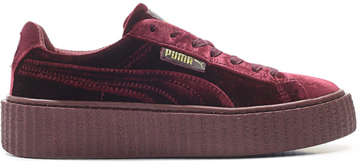 Puma Creeper Velvet Rihanna Fenty Royal Purple