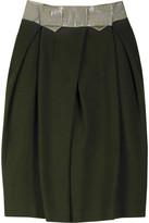 Cotton tulip skirt