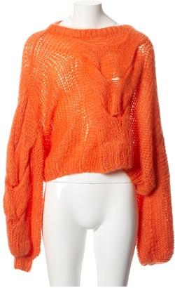 Loewe Orange Wool Knitwear for Women