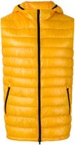 Herno zipped hooded gilet - men - Polyamide/Goose Down - 50