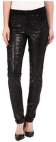 CJ by Cookie Johnson Peace Skinny Jeans w/ Sequin in Black