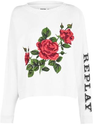 Replay Rose Sweatshirt