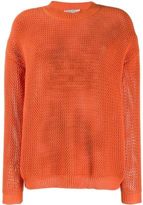 Nina Ricci waffle knit jumper