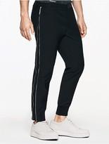 Calvin Klein Platinum Twill Zip Cropped Pants