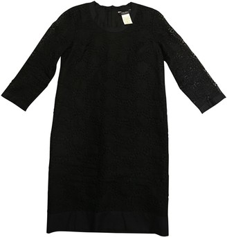 Max Mara 's Black Lace Dress for Women