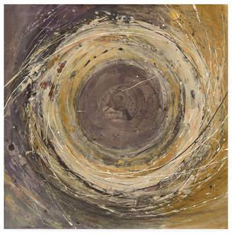 "Albena Hristova Wooden Rings Canvas Art - 36.5"" x 48"""