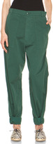 Boy By Band Of Outsiders Tapered Leg Pant in Teal Green
