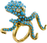 Kenneth Jay Lane FINE JEWELRY KJL by Simulated Turquoise Octopus Ring