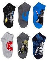 Star Wars Boys' 6-Pack Ankle Socks - Multicolored