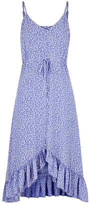 Rails Frida blue floral-print dress
