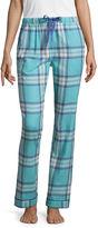 Liz Claiborne Flannel Pattern Pajama Pants
