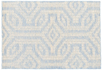 Dash & Albert Taj Handwoven Rug - Sky Blue 5'x8'