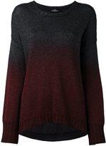 Capucci degradé effect sweater