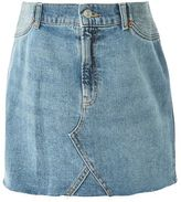 Topshop Maternity high waist denim skirt