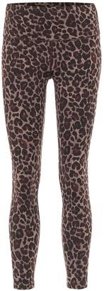 Varley Luna leopard-print leggings