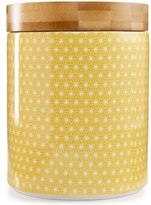 Certified International Chelsea Collection Yellow Poppy Canister