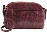 Cole Haan Tawny Snake Embossed Leather Crossbody