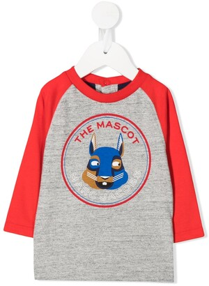 The Marc Jacobs Kids The Mascot graphic-print top