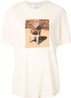 Collina Strada photographic-print crew neck T-Shirt