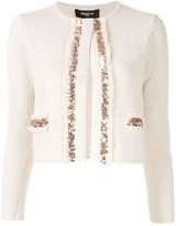 Paule Ka embellished fitted jacket