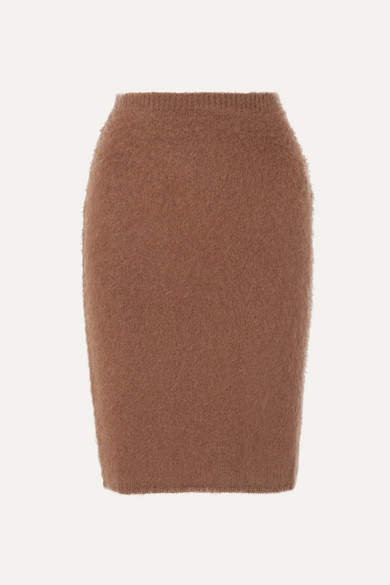 Versace Knitted Skirt - Brown