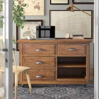 Three Posts Stromsburg Credenza Desk