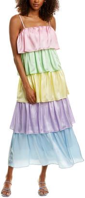 Olivia Rubin Cici Silk Maxi Dress