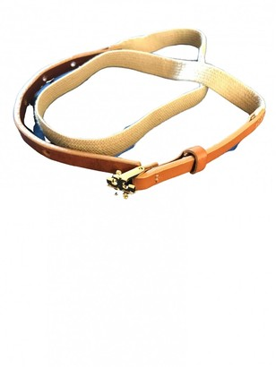 Tory Burch Brown Leather Belts