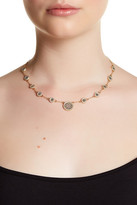 Anna Beck 18K Gold Plated Sterling Silver Multi-Disk Collar Necklace