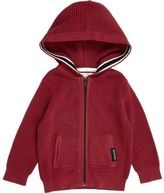 River Island Mini boys red waffle hoodie