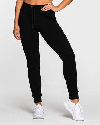 Muscle Republic - Women's Black Track Pants - Prime Ladies Track Pants - Size One Size, XS at The Iconic